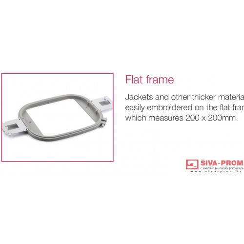 VRFF200 FLAT FRAME 20×20cm za BROTHER VR